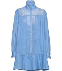 elorie korte jurk blauw custommade