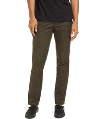 men's carhartt work in progress sid chino pants, size 30 x 32 - green