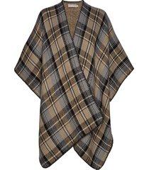 scarf poncho regnkläder brun brandtex