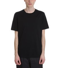acne studios everest t-shirt in black cotton