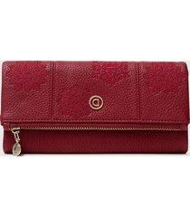billetera palin colors rojo desigual