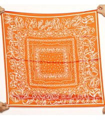 pañuelo naranja nuevas historias