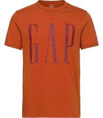 logo dorito t t-shirts short-sleeved orange gap