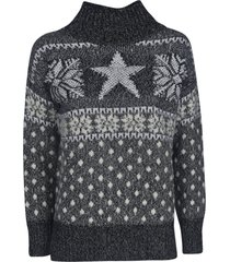 lorena antoniazzi star knit pullover