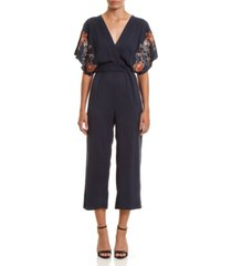 colcci women's embroidered jumpsuit