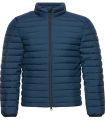 beret jacket man fodrad jacka blå ecoalf