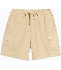 mens stone woven cargo shorts