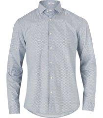 skjorta graphic print shirt l/s, slim fit