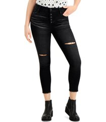 celebrity pink juniors' high-rise cropped skinny jeans