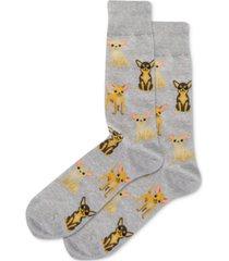 hot sox men's chihuahua socks