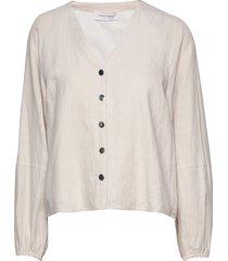 ayo blouse blouse lange mouwen crème storm & marie