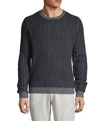 textured cashmere sweater