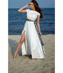 suknia ślubna maxi
