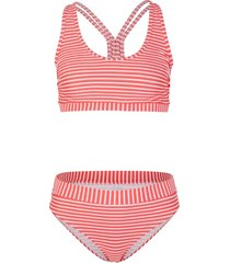 bikini a bustier (set 2 pezzi) (arancione) - bpc bonprix collection
