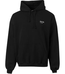 f*uck definition hoodie, black