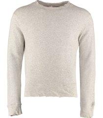 r13 cotton crew-neck sweatshirt
