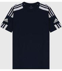 camiseta azul-blanco adidas performance squadra 21