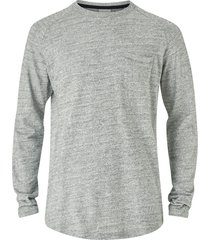 t-shirt jcoozil tee ls crew neck