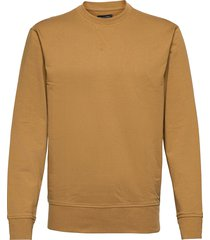core temp terry sweatshirt sweat-shirt tröja brun banana republic