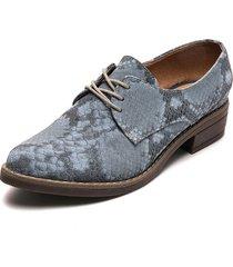 zapato casual pitón gris heels.d