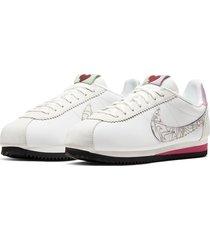 8-zapatillas de dama nike wmns classic cortez se sp20-blanco