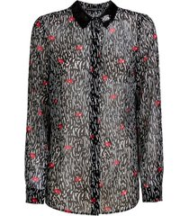 blouse fantasy print