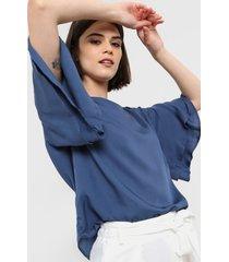 blusa azul etam guadalajara