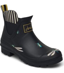 wellibob regnstövlar skor svart joules