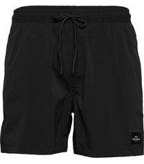 m swim shorts badshorts svart peak performance