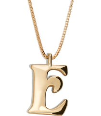 women's baublebar angela initial pendant necklace