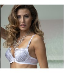 ambra lingerie bh's grand arches push-up bh wit 0328