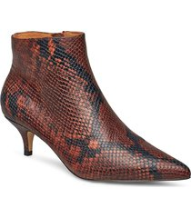 sara boot snake shoes boots ankle boots ankle boots with heel brun shoe the bear