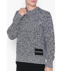 calvin klein jeans cardigan stitch cn sweater tröjor vit