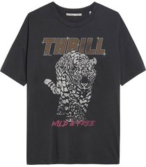 t-shirt thrill donkergrijs