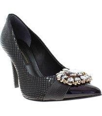 zapatos para mujer marca jorge bischoff jorge bischoff - negro