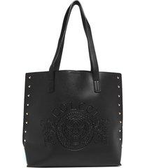 bolsa sacola colcci tachas preta