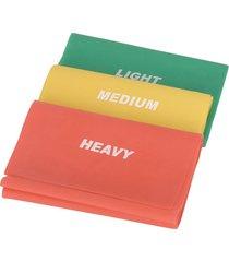 bandas de pilates de sunny no. 042-multi color