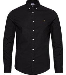 farley slm ls bd skjorta casual svart farah