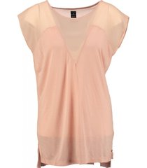 replay roze long shirt