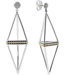 women's lagos 'ksl' pyramid drop earrings