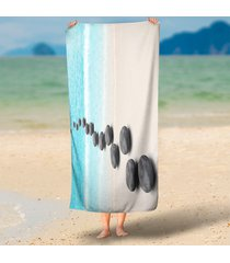 walking-on-the-beach-funny-chic-sea-tide-stone-3d-round-beach-throws-home-decor-