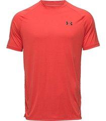 ua tech 2.0 ss tee t-shirts short-sleeved orange under armour