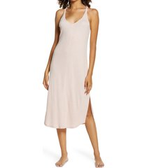 women's splendid keyhole tank nightgown, size x-small - pink