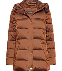 jackets outdoor woven fodrad jacka brun esprit collection