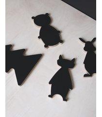 tablica mini forest gang kreatywne zwierzaki