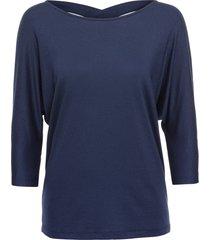 maglia con incroci sulla schiena (blu) - bodyflirt