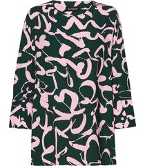 liuska harha shirt blouse lange mouwen multi/patroon marimekko
