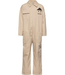 lost thing recollector overall jumpsuit beige bobo choses