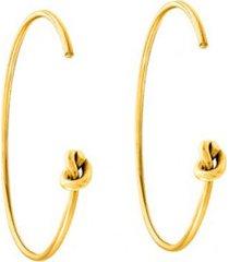 kolczyki nodo mini gold
