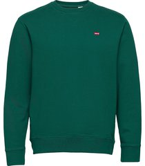 new original crew forest biome sweat-shirt trui groen levi´s men